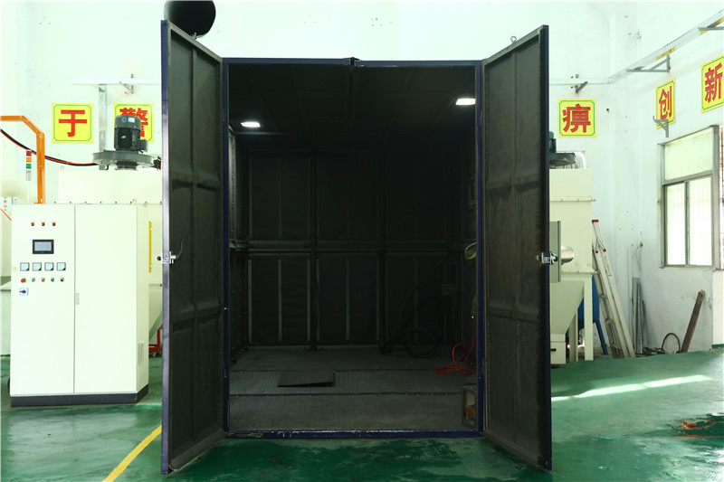 Sand Blasting Sand Room and Sand Blast Cabinet for Cleaning Casting Surface